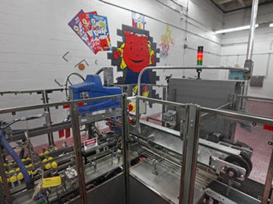 The inside of Kraft Heinz's Dover plant. Kool-Aid is one of the products manufactured at the site.
