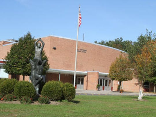 H.C. Crittenden Middle School in Armonk.