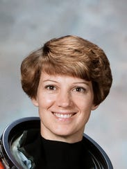 Elmira native Eileen Collins, a retired NASA astronaut