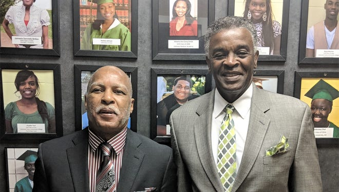 Children Are People, Inc. founder Fred Bailey (left) has stepped down as executive director. Donnie Crenshaw (right) has taken over the role.