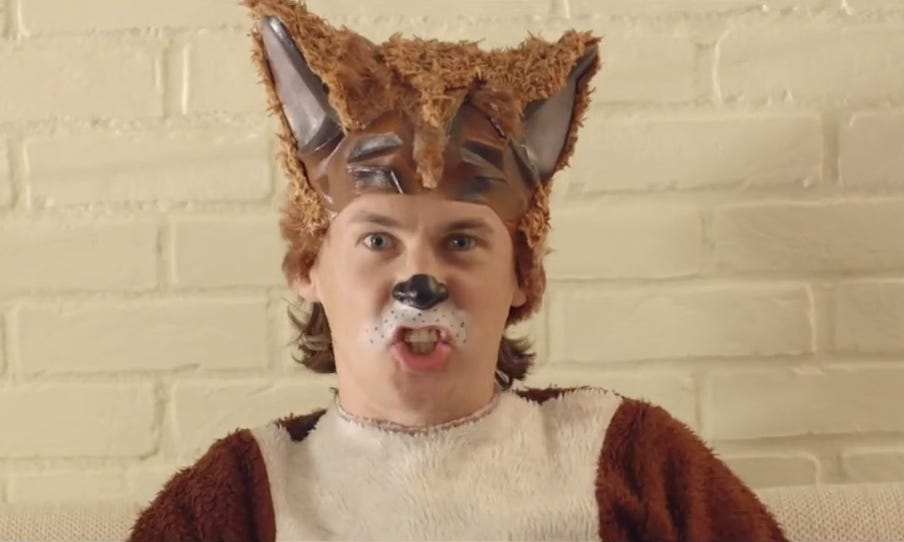 """""""The Fox,"""" a video from Norwegian comedy duo Ylvis, is quickly going viral."""
