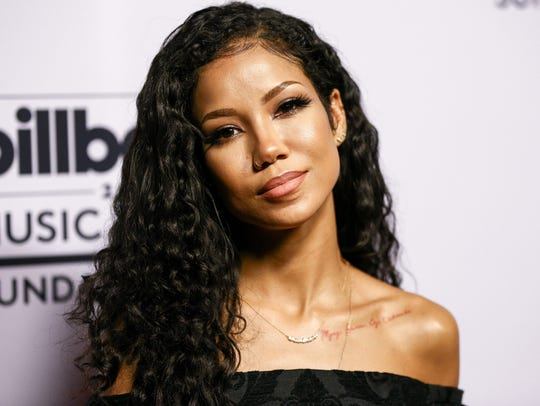 Jhene Aiko attends the Billboard Music Awards and ELLE