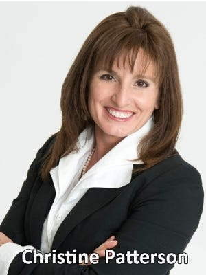 Christine Patterson was promoted to events director at The Siegfried Group.
