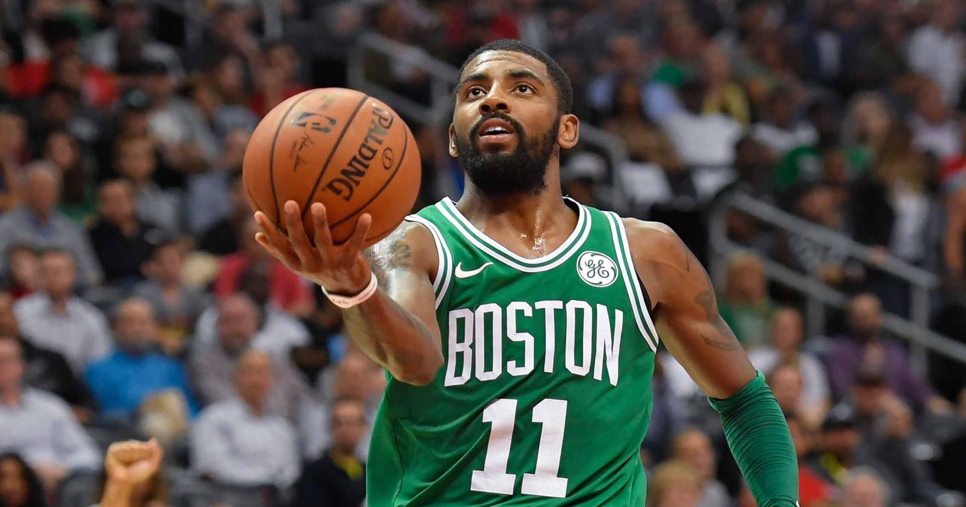 e5de6b35d84a NBA MVP rankings  Boston Celtics  Kyrie Irving joins top five