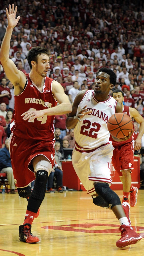 Unsurprisingly, Frank Kaminsky (left) and the Wisconsin Badgers lead ranked Big Ten teams in the preseason AP Top 25, at No. 3 nationally.