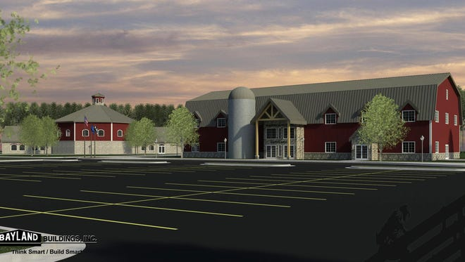 The proposed agricultural education center in Newton aims to promote the importance of Wisconsin agriculture.