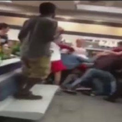 "Over the weekend, the Whataburger off of Spring Cypress and the Northwest Freeway turned into a ""fight club."""