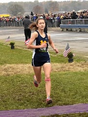 Third place in the Division 2 Girls race belonged to