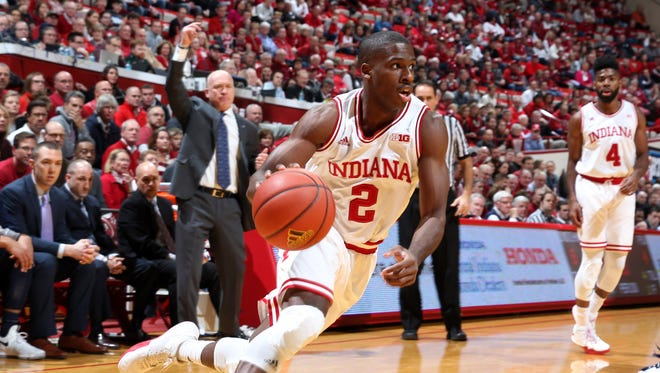Josh Newkirk scored a career-high 27 points against Penn State on Wednesday.