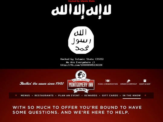 A group claiming to be ISIS allegedly hacked the Montgomery