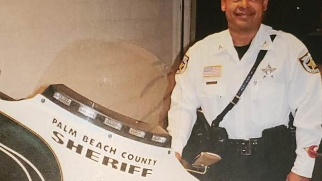 Palm Beach County Sheriff's Office deputy Hubert Burey died Sunday, Feb. 9, 2020, in a motorcycle crash in southwest Florida. He was 42.