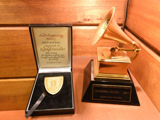 Awards received by Rudy Van Gelder The late Rudy Van