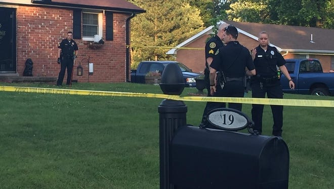 Clarksville Police are investigating a shooting on Lasalle Street.