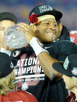 Jameis Winston and Florida State face a tall task to repeat as national champions.
