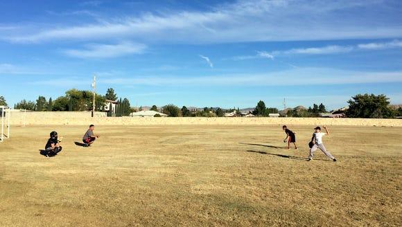 Montana Vista Elementary School students practice for
