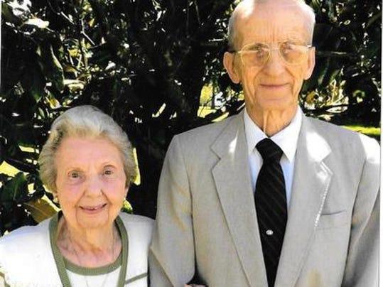 Anniversaries: Jim Weaver & Jean (Johnson) Weaver