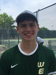 Iowa City West's Cole Schneider