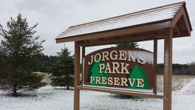 A dedication for the Jorgens Park and Preserve and Gunny's Hiking Trail will be June 6 in Scandinavia.
