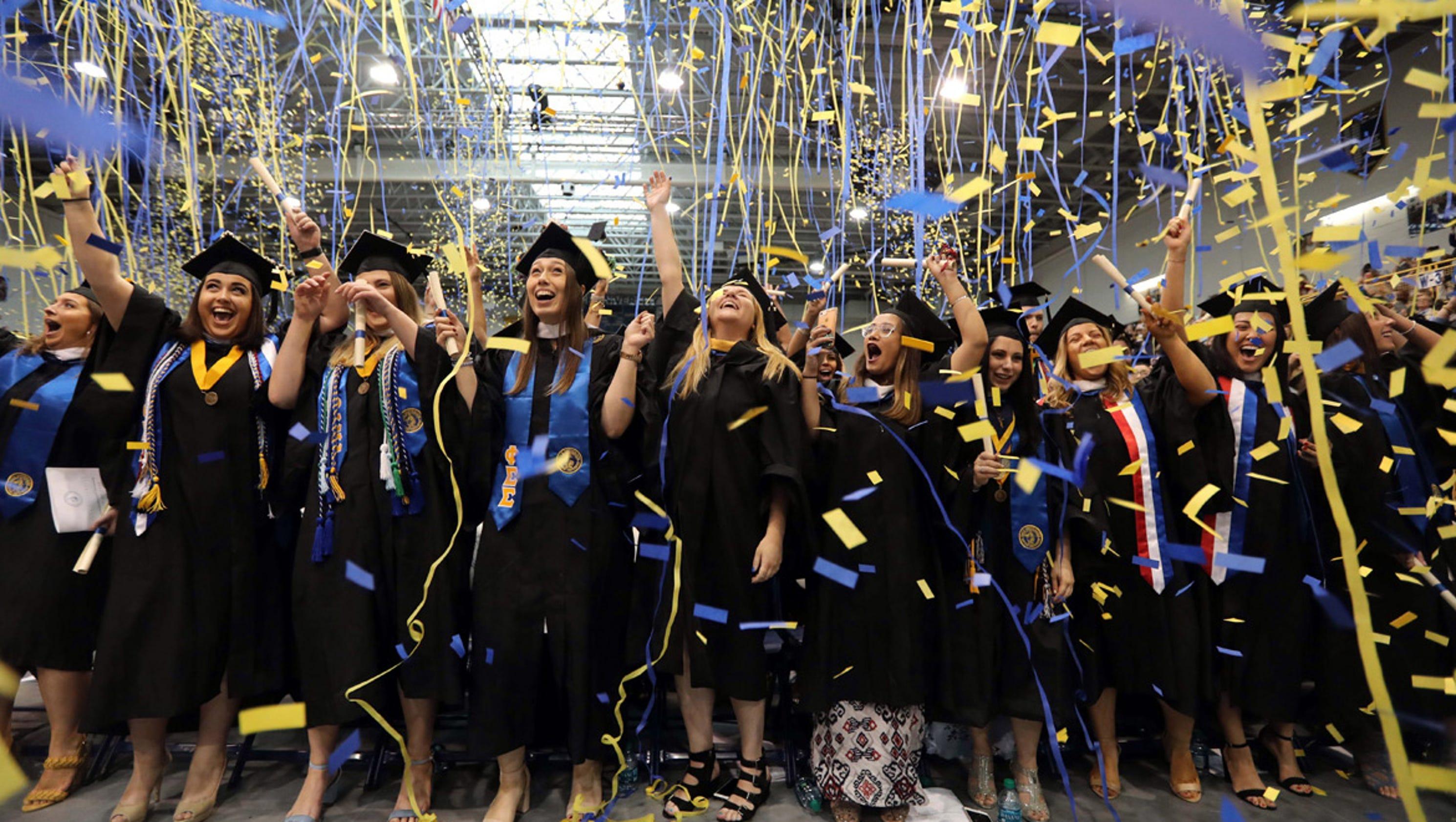 Photos: Pace University Graduation 2018