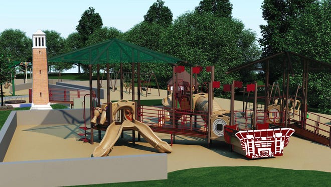 Designed for people of all ages and abilities to by able play together, the Tuscaloosa All-Inclusive Playground Project will accommodate physical, social, cognitive, communicative and sensory needs. The design includes equipment like wheelchair-accessible swings, and merry-go-rounds that allow other children to play side-by-side with children with disabilities.