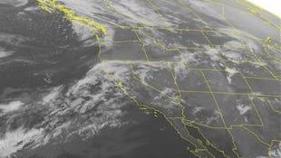 NOAA satellite image taken Monday, Jan. 19.