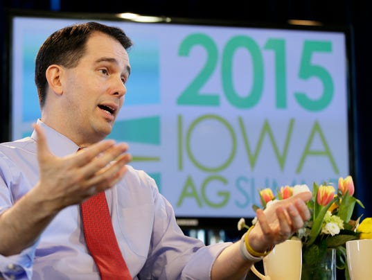 Scott Walker, Iowa, Tweet