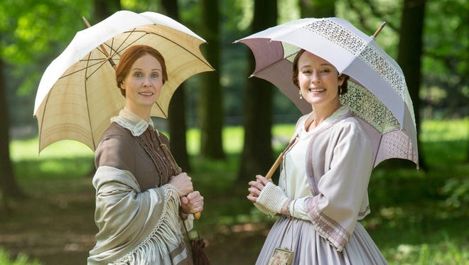 "Cynthia Nixon and Jennifer Ehle are the Dickinson sisters in ""A Quiet Passion."""