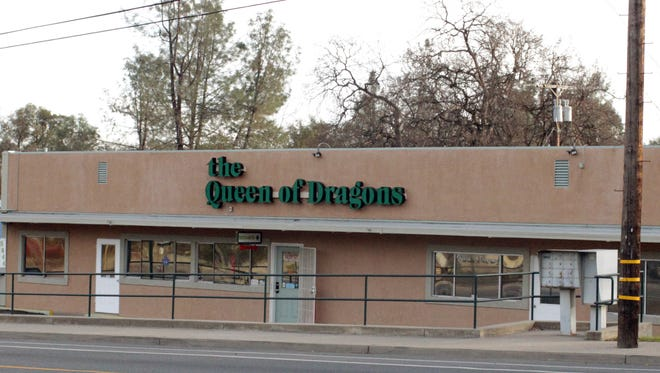 The Queen of Dragons marijuana dispensary is one of three medical collectives in Shasta Lake vying to take on recreational customers. The state this week issued the dispensary its temporary license to sell recreational cannabis.