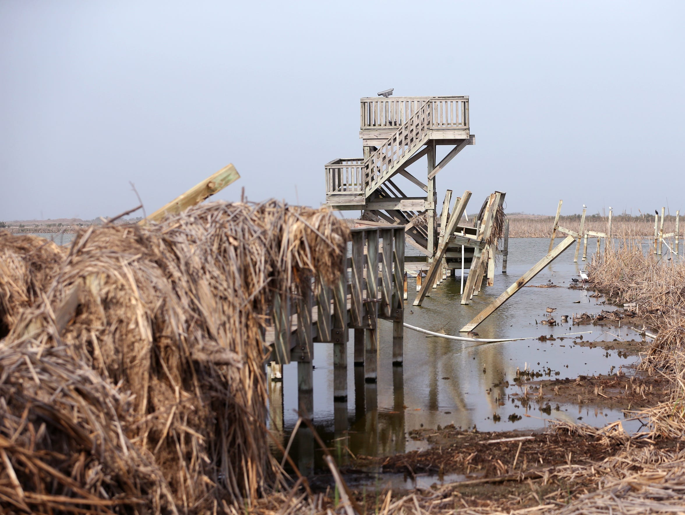 Six months after Hurricane Harvey hit Port Aransas,