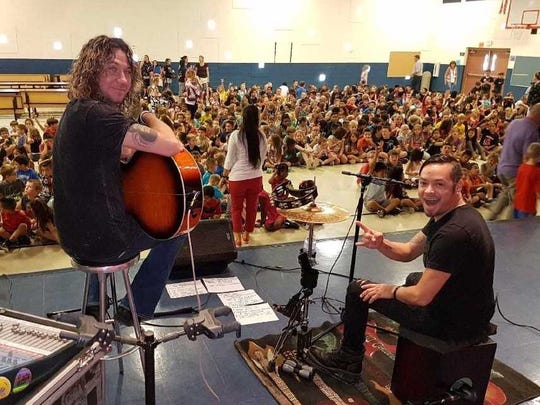 Black Moods rocked Jack Harmon Elementary School in