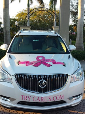 Carl's Buick will provide the pace car for the 2017 Making Strides Against Breast Cancer walk in Martin County on Oct. 28.