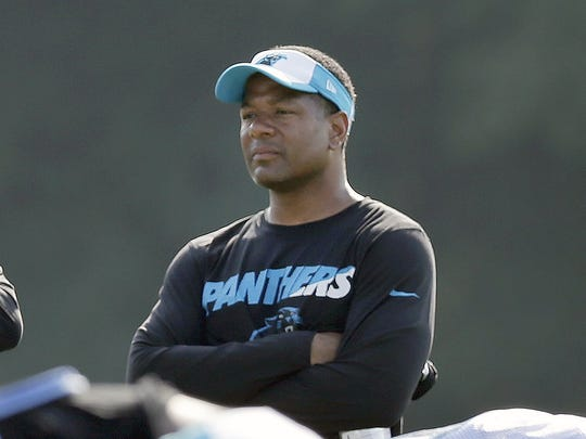 Steve Wilks spent 2012-2017 with the Carolina Panthers