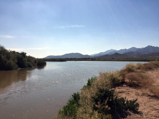 Gila River restoration plan