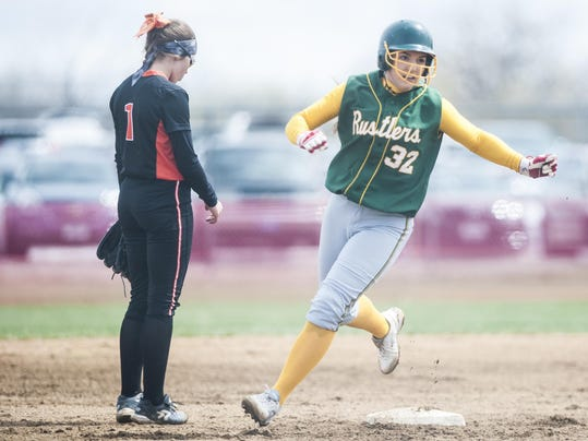 Rustler Softball v Billings Senior