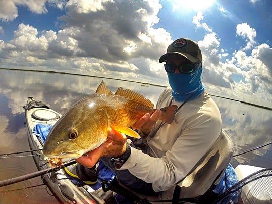 Louisiana coastline is kayak fishing paradise for Kayak fishing louisiana