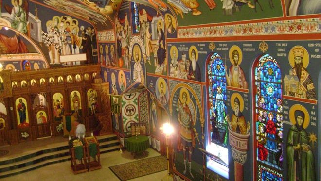 The first Holy Trinity Orthodox Church was built at Porphyry and Idaho streets in 1905.