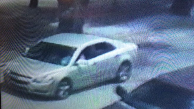 The woman and car wanted in connection with an aggravated robbery.