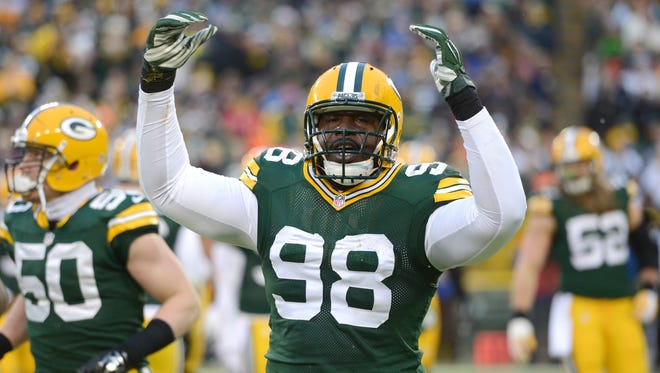 Green Bay Packers defensive tackle Letroy Guion was an important contributor on the field and in the locker room in 2014.