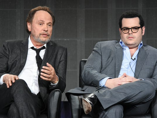 Billy Crystal Josh Gad at TCA