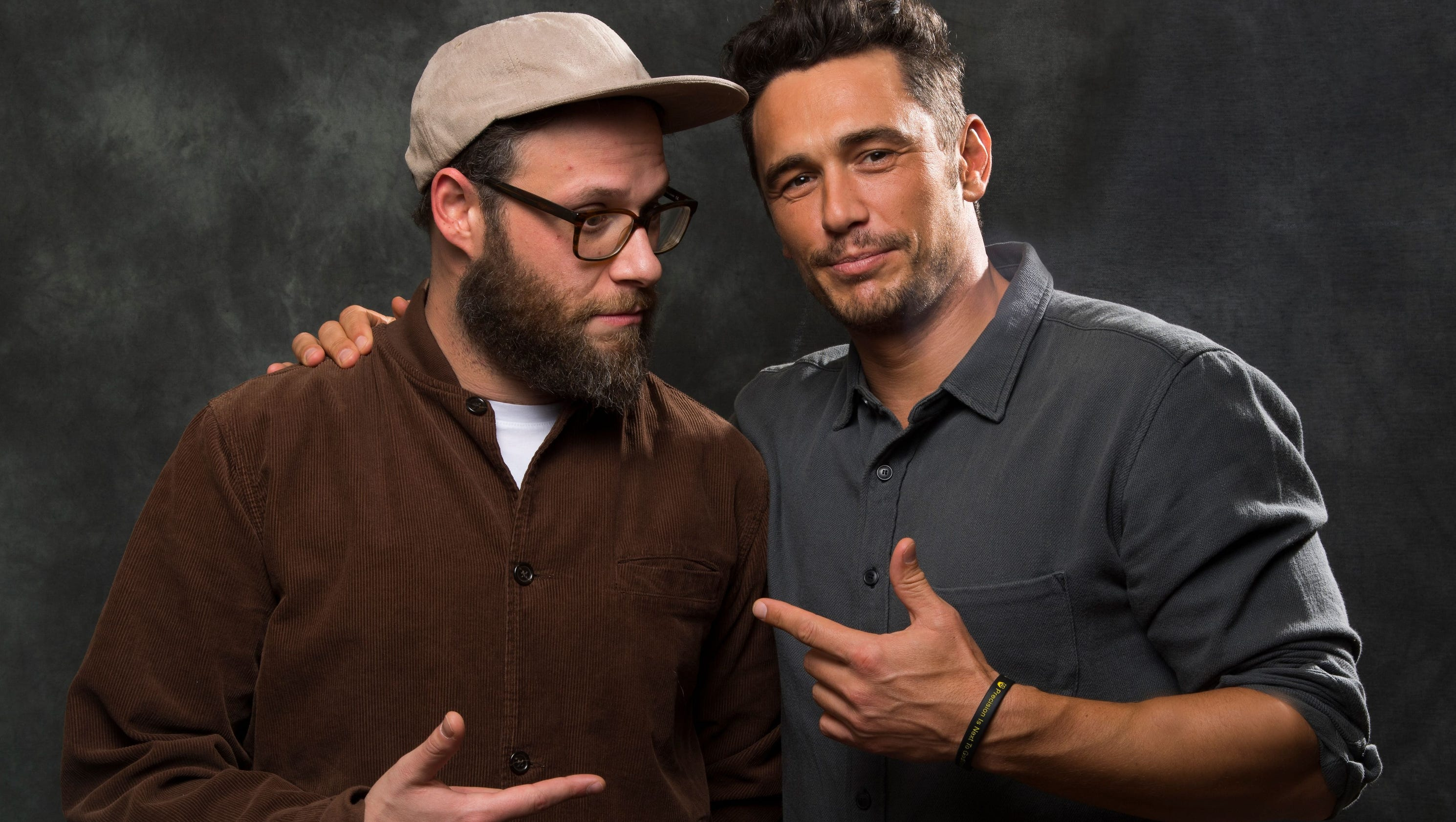 are seth rogen and james franco dating Who's that guy jonah hill, looking insanely thin, dropped by 'saturday night live' to heckle his pal james franco.