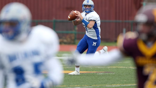Madison hosts Millburn on Thanksgiving in the 84th installment of the long-running intercounty series between the two schools. November 24, 2016, Madison, NJ.