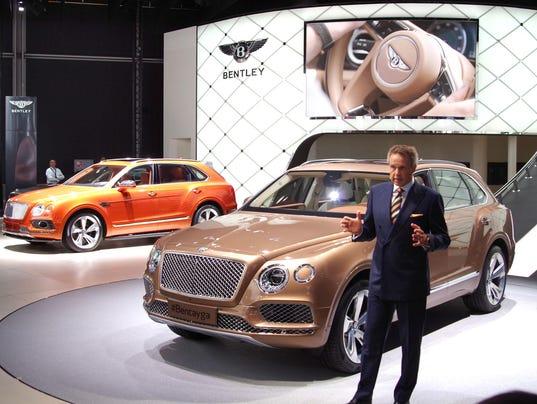 Bentley Bentayga Is Ready For Luxury Tailgating