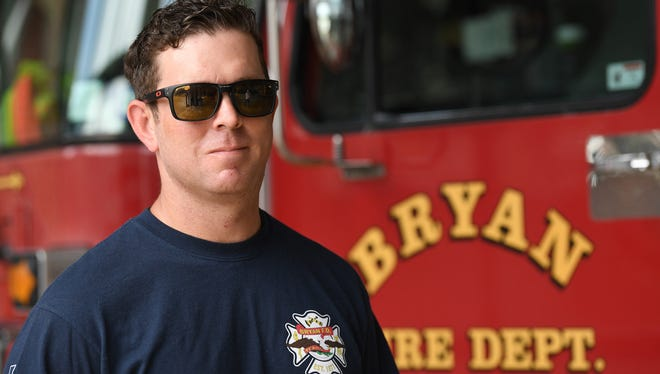 Rayse Richardson returned to work this week as a firefighter for the Bryan Fire Department. Richardson, who has been diagnosed with brain cancer, is currently performing light duty as his recovery continues.