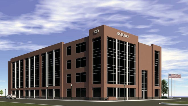 The Gateway office building is a redevelopment project on the west end of downtown Neenah.