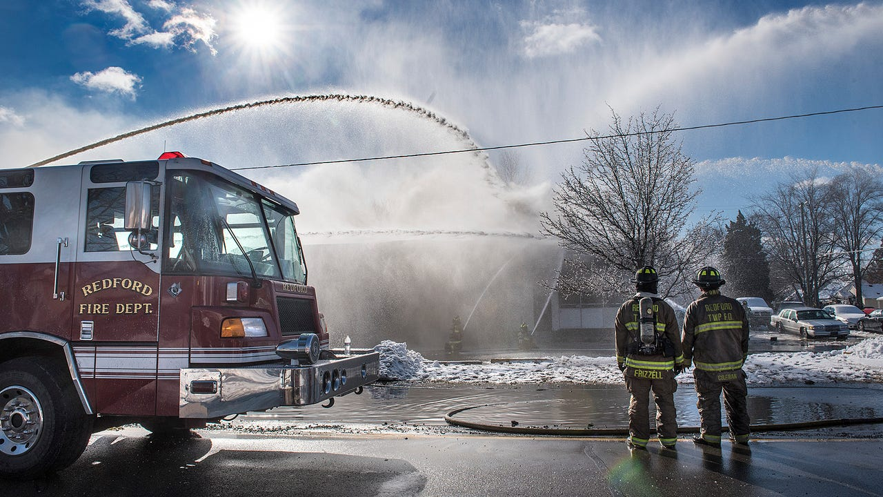 Walsh's Service, an automotive repair shop in Redford, was destroyed Wednesday by fire.