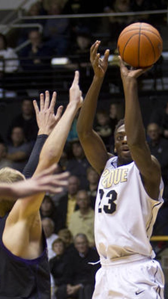Purdue could still pursue a medical redshirt for freshman forward Jacquil Taylor after the season.