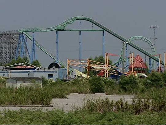 A 2016 analysis commissioned by the board estimated it would cost about $1.3 million to demolish the rides and other infrastructure at the former Six Flags site in New Orleans.