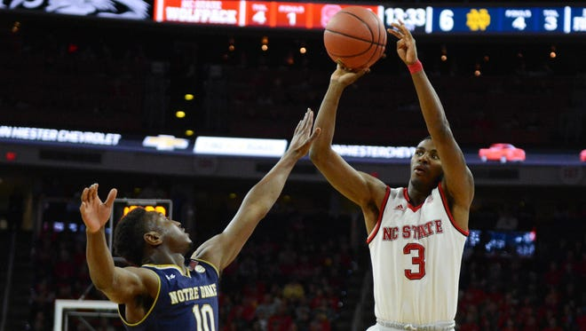 Lavar Batts Jr., who played in 30 games as a freshman at N.C. State during the 2017-18 season, has signed with UNC Asheville, the school announced.