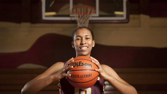 Gloucester Catholic's Azana Baines is the Courier-Post's 2018 Player of the Year.