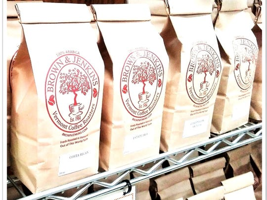 Brown & Jenkins has been roasting coffee in Jeffersonville for more than 30 years.